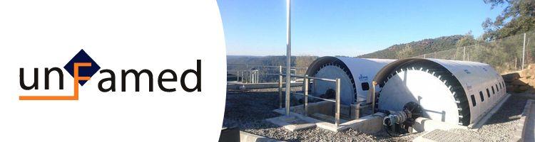 UNFAMED fabrica dos biodiscos para el proyecto de la EDAR de Berrocal en Huelva