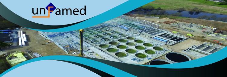 UNFAMED suministra su relleno plástico para lechos percoladores a una piscifactoría de Gales
