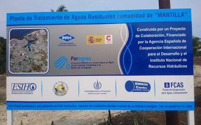 """AECID confirma el buen funcionamiento de la EDAR """"La Solita"""", en Mantilla (Cuba), suministrada e instalada por UNFAMED FABRICANTES AGUA."""