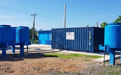 UNFAMED FABRICANTES AGUA, ha concluido la instalación y puesta en marcha de la depuradora de Salvial, en el municipio de Cauto Cristo, Cuba.
