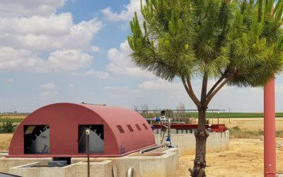 UNFAMED FABRICANTES AGUA ha finalizado la reparación del biodisco de la EDAR de Cabezamesada, en Toledo.