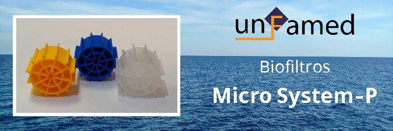 Nuevo biofiltro Micro System-P para MBBR