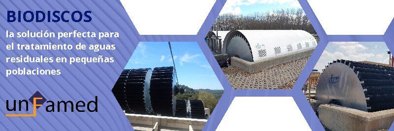 BIODISCOS, la solución perfecta en el tratamiento de aguas residuales en pequeñas poblaciones.