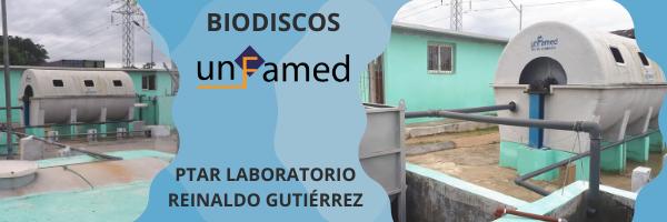 Puesta en marcha de los equipos de la PTAR del laboratorio Reinaldo Gutiérrez en La Habana