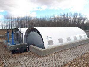 Biodiscos (CBR), depuración aguas residuales, contractores biológicos rotativos, EDAR