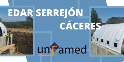 Un biodisco de Unfamed para la EDAR de Serrejón, Cáceres