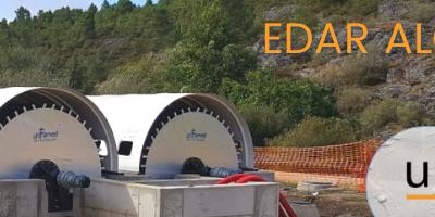 Unfamed instala dos biodiscos en la EDAR de Alcañices, Zamora.